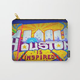 Houston is Inspired Carry-All Pouch
