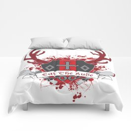 Hannibal Coat of Arms - Eat the Rude Comforters