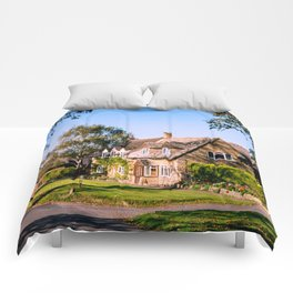 Autumn village. (v2) Comforters