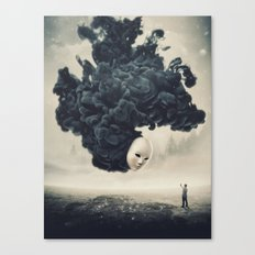 The Selfie Dark Surrealism Canvas Print