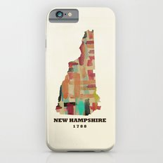 new hampshire state map modern iPhone 6s Slim Case