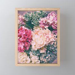 Pastel mania Framed Mini Art Print