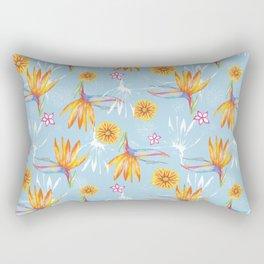 Sketchbook Paradise Rectangular Pillow