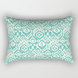 lezat turquoise Rectangular Pillow