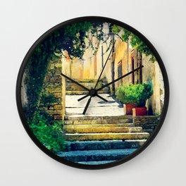 Erice art 8 Wall Clock