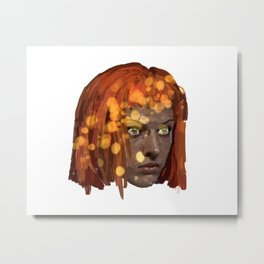 Leeloo Metal Print