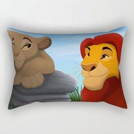 King and queen Rectangular Pillow