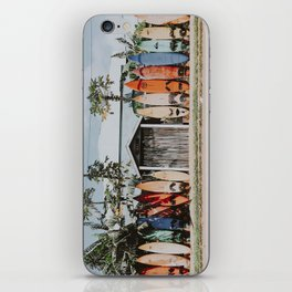 lets surf vi / maui, hawaii iPhone Skin