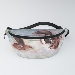Loon Calling by Maureen Donovan Fanny Pack