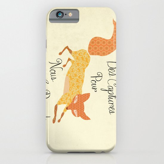 Catch for Us the Foxes iPhone & iPod Case