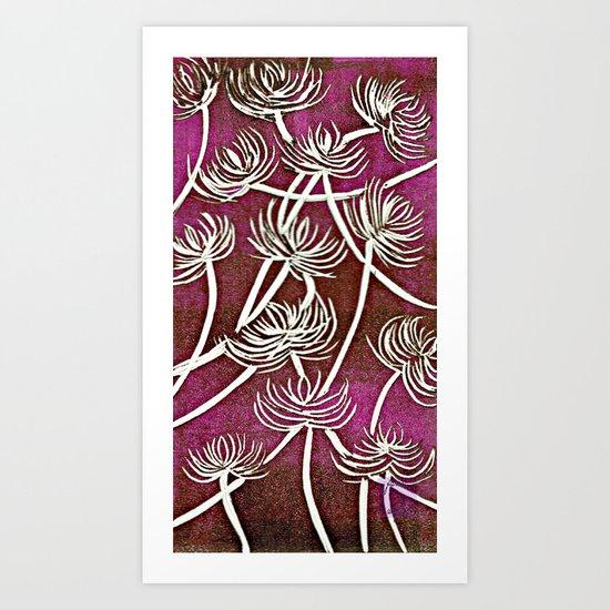 spiderlilies Art Print