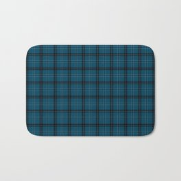 Sea buffalo plaid Bath Mat