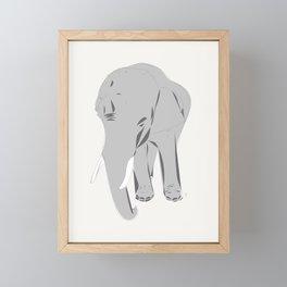 Thailand Elephant Framed Mini Art Print