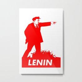 Lenin Metal Print