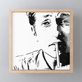 Engraving Bob Framed Mini Art Print
