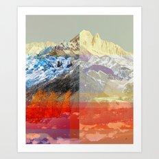 MountainMix 10 v2 Art Print