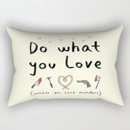 Motivational Poster Rectangular Pillow