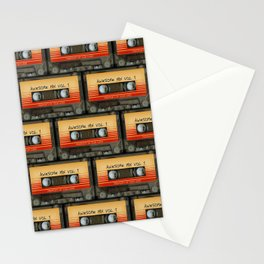 awesome transparent mix cassette tape vol 1 Stationery Cards