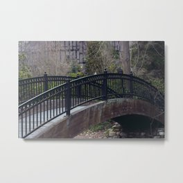 Iron Bridge - Ashland, OR Metal Print