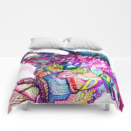 Illusion Fantasy in Flight Comforters