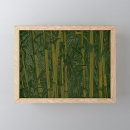Bamboo jungle Framed Mini Art Print