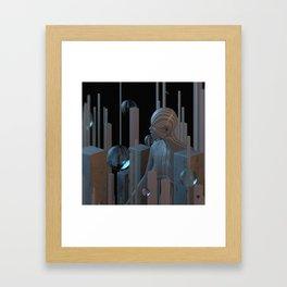 WAKE ∀ Framed Art Print