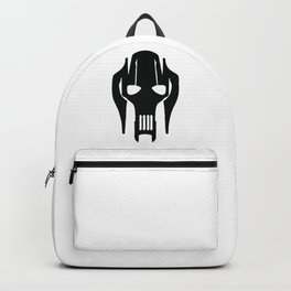 General Grievous Face Silhouette Backpack