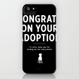 Congratulations! iPhone Case