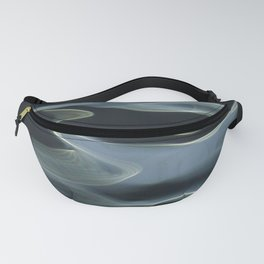 H2O # 9 - Water abstract Fanny Pack