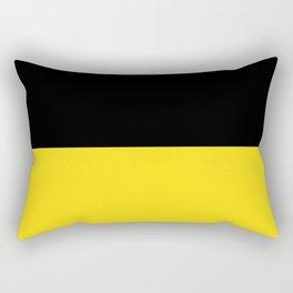 Flag of Baden-Württemberg Rectangular Pillow