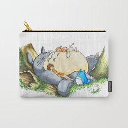 Ghibli forest illustration Carry-All Pouch