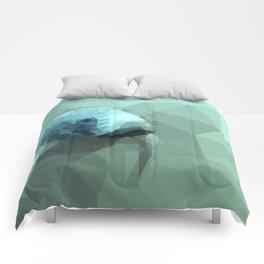 "Fragments ""Manatee"" Comforters"