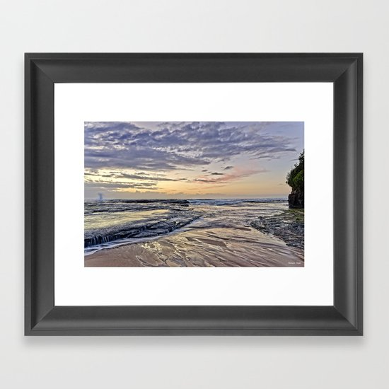 Life at Dawn Framed Art Print