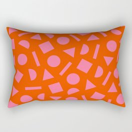 Geometric Shapes 01 Rectangular Pillow