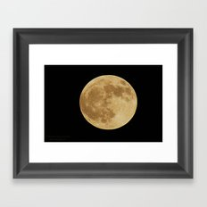Our Raising Moon Framed Art Print