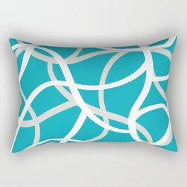 ABSTRACT LINES 001 Rectangular Pillow