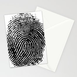 Fingerprint Stationery Cards