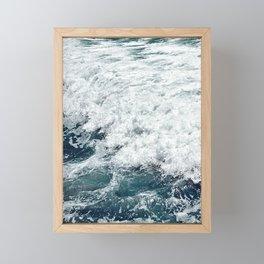 Wave me Framed Mini Art Print