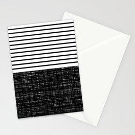 platno (black stripes) Stationery Cards