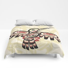 Salish Coast Humming Bird Comforters