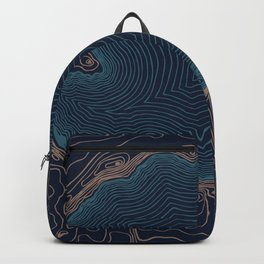 Crater Lake Topo Backpack