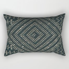 Black Assuit Rectangular Pillow