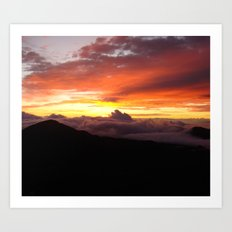 Sunrise - Maui Art Print