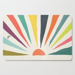 Rainbow ray Cutting Board