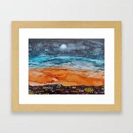 Sunrise in the City Framed Art Print
