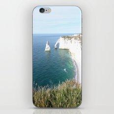 Cliffs at Etretat iPhone & iPod Skin