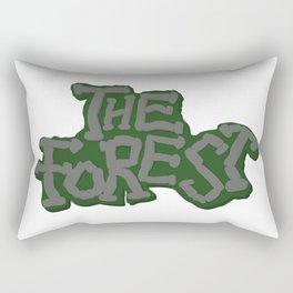 The Forest Logo Rectangular Pillow