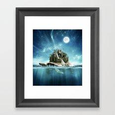 Turtle Island Framed Art Print