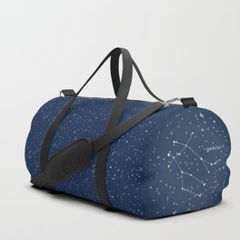GEMINI - Astronomy Astrology Constellation Duffle Bag
