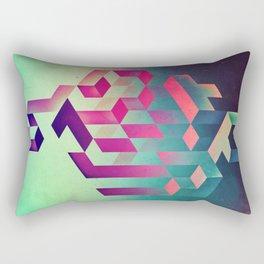 isyhyrtt dyymyndd spyyre Rectangular Pillow